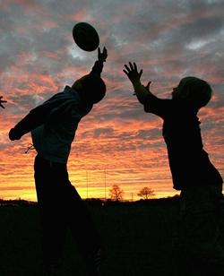 Corso allenatore rugby primo momento Sanremo