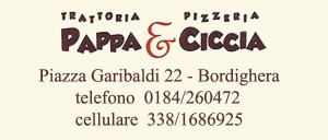 Ristorante Pizzeria Pappa e Ciccia Partner del Sanremo Rugby